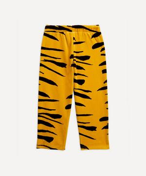Tiger Velour Trousers 2-8 Years