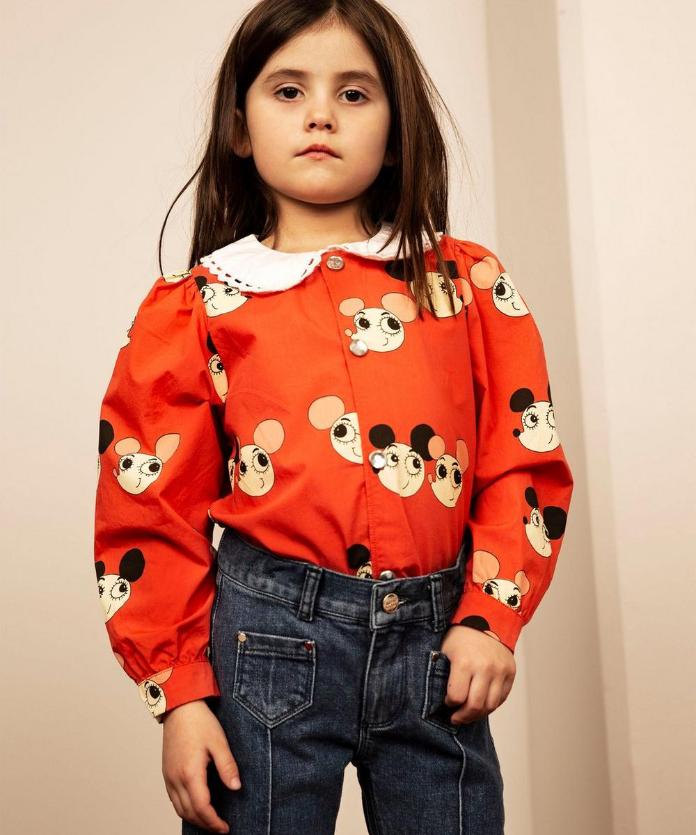 Ritzratz Button-Up Blouse 2-8 Years