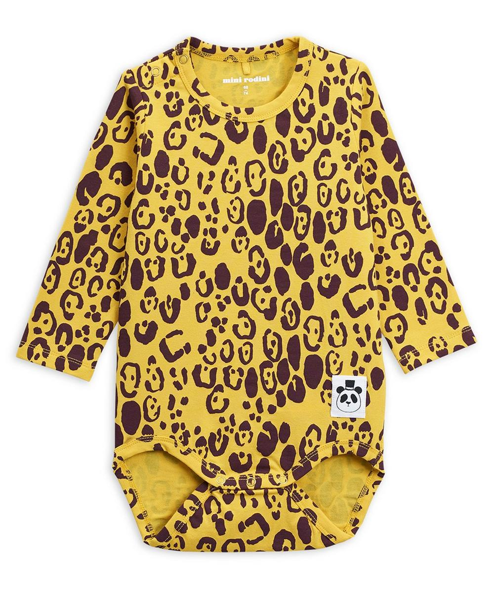 Leopard Long-Sleeve Body 3-18 Months