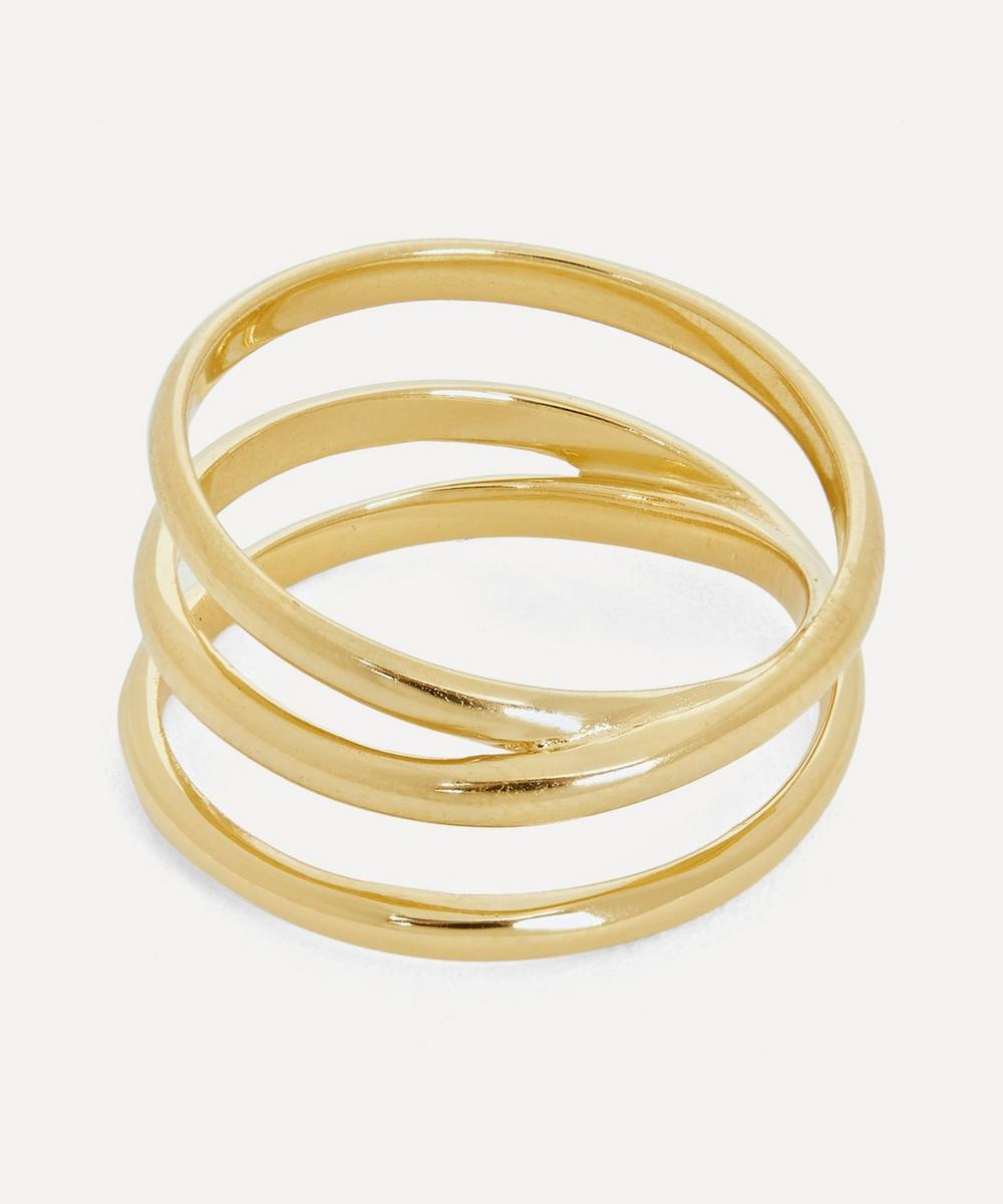 Gold-Plated Emilie Wrap Ring