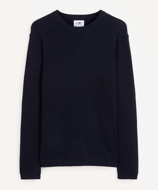NN07 - Julian Mélange Cotton Sweater