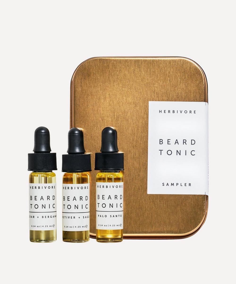 Beard Tonic Sample Set