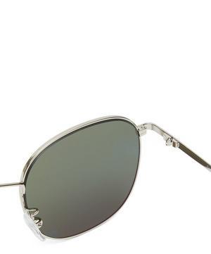 Arnold Silver Pilot Sunglasses