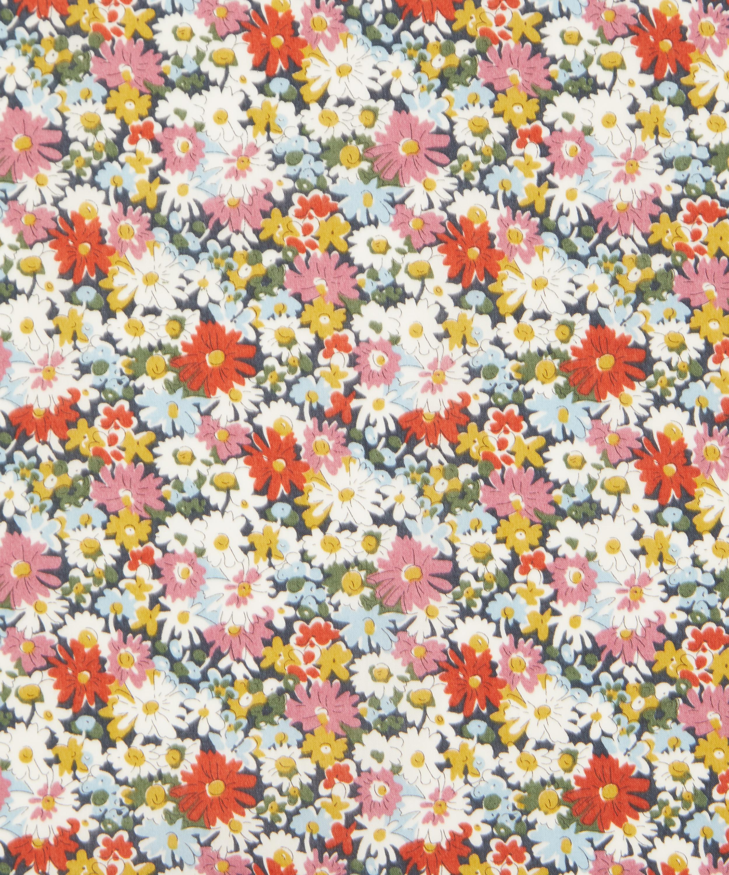 SILKY TOUCH CHIFFON PRINT-ALLOVER  FLORAL- DRESS FABRIC-FREE P/&P