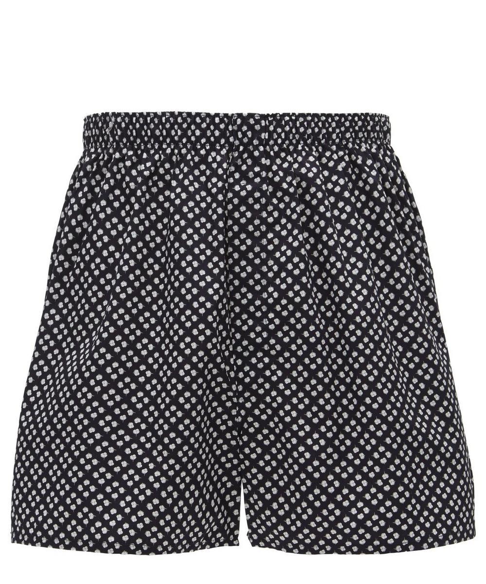 Oval Leaf Cotton Boxer Shorts