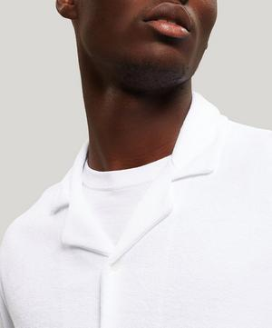 Towelling Organic Cotton Polo-Shirt