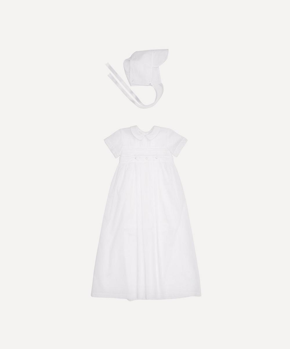 Phillip Short Sleeve Converter Gown and Hat Set 3-12 Months