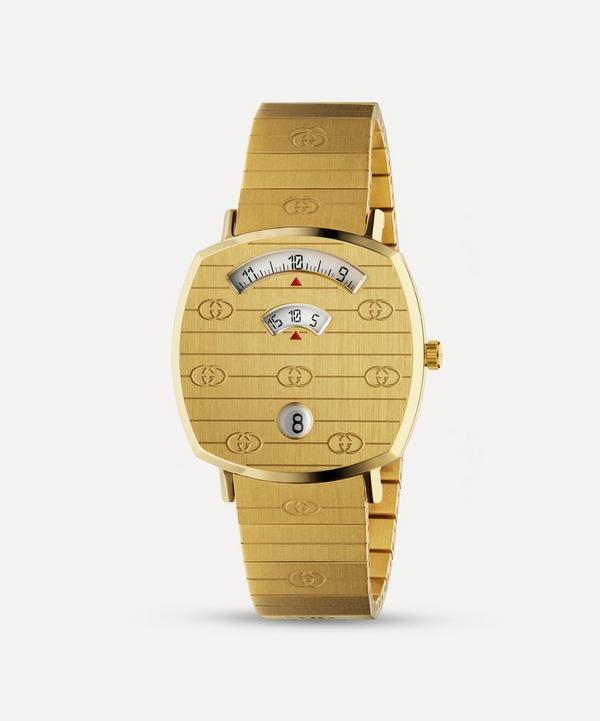 Gucci - Gold PVD Grip Watch