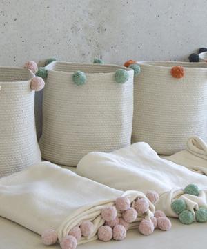 Natural Bubbly Basket
