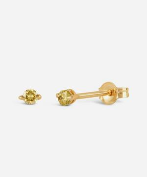 Gold Shuga Yellow Diamond Stud Earrings