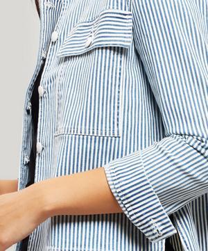 Engineer Stripe Denim Jacket