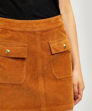 Le Bardot Corduroy Miniskirt