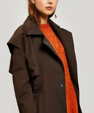 Stevie Cotton Trench Coat