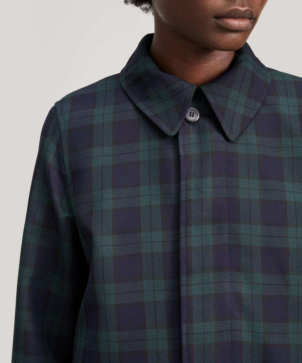 Mac Dinard Check Coat