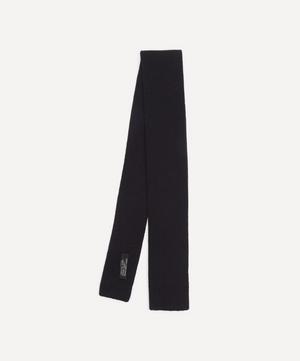 Plain Lambswool Tie