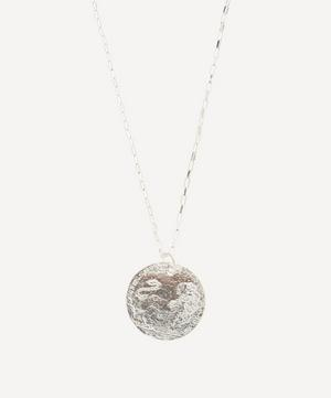 Sterling Silver Medium Snow Lion Necklace