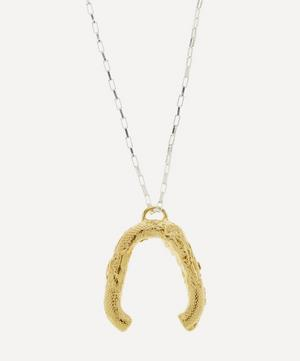 Gold-Plated The Flashback River Necklace