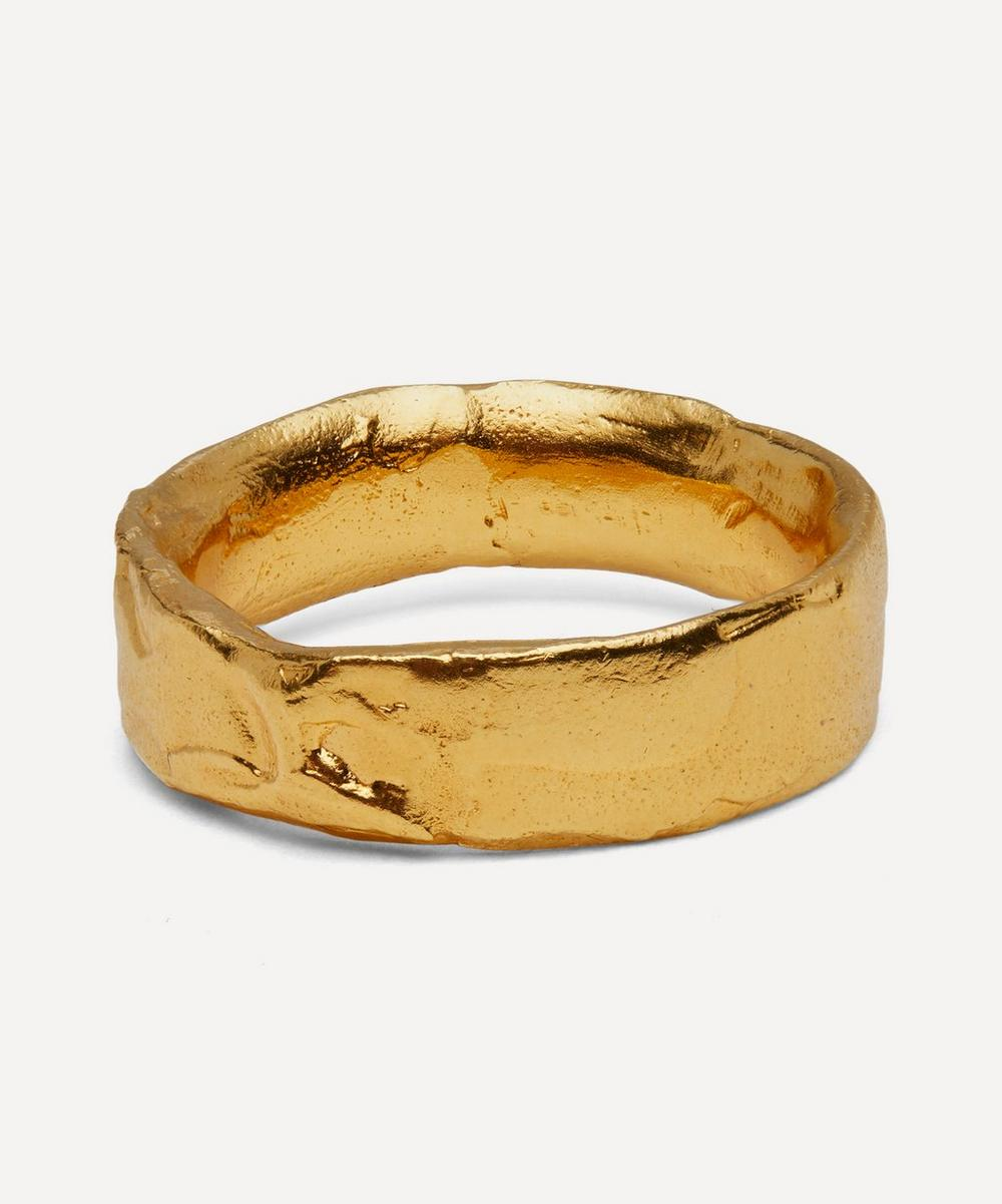 Gold-Plated Dante's Shadow Ring