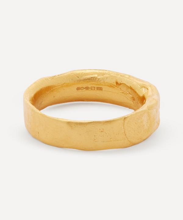Alighieri - Gold-Plated Dante's Shadow Ring