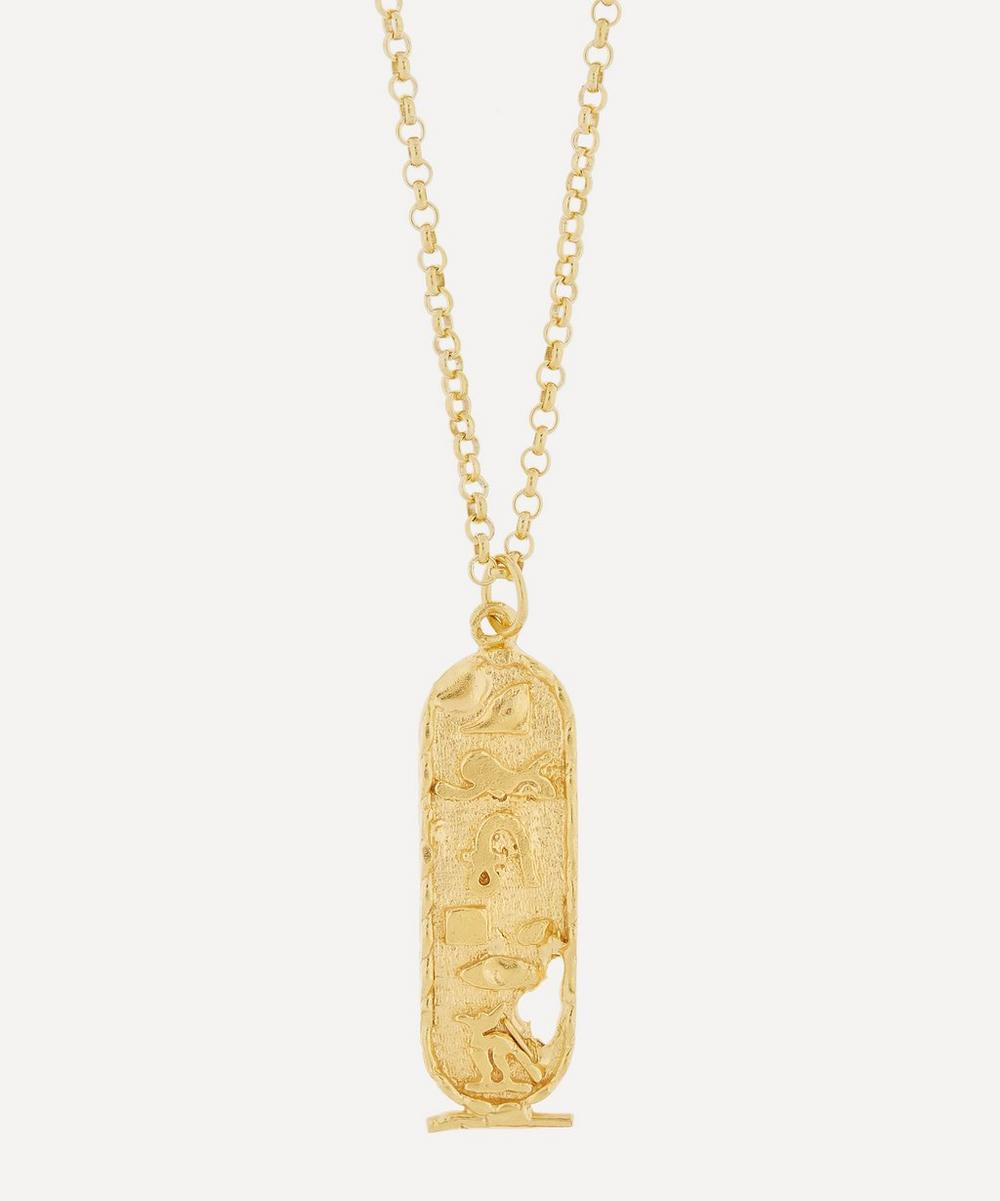 Alighieri - Gold-Plated Canto V Necklace