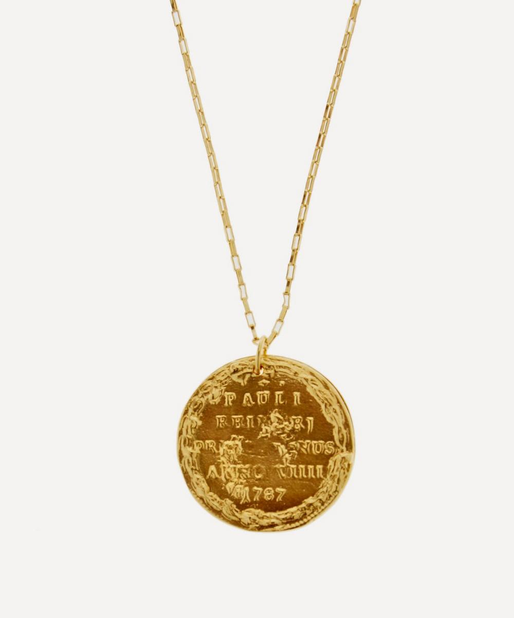 Gold-Plated Il Leone Necklace