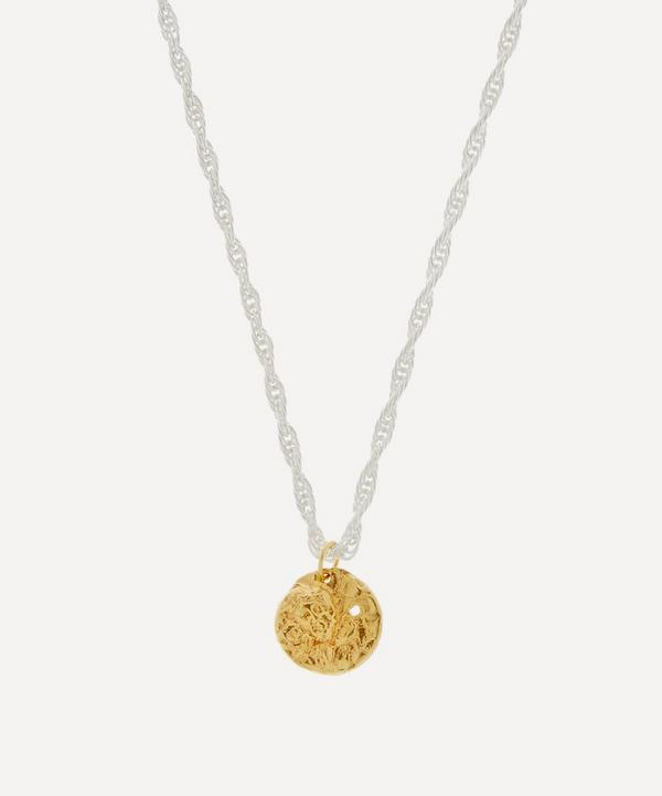 Alighieri - Silver and Gold-Plated The Intrepid Explorers Necklace