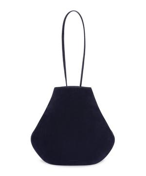 Suede Folded Hobo Shoulder Bag