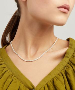 Silver Rope Necklace