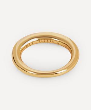 Gold Vermeil Hungry Snake Ring