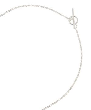 Silver Quail Eggshell Pendant Necklace