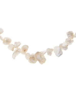 Gold-Plated Two Faced Shelley Baroque Pearl Choker Necklace