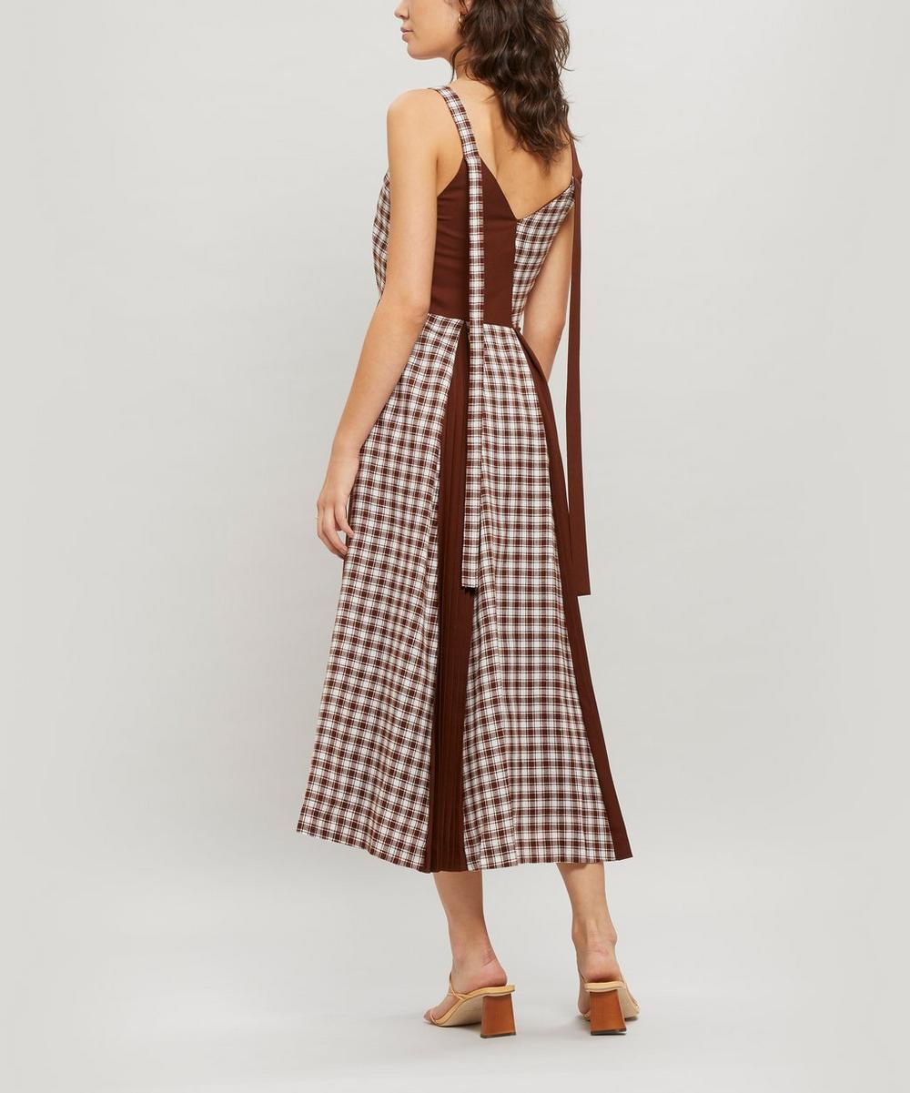 Rosa Japanese Wool Midi Dress