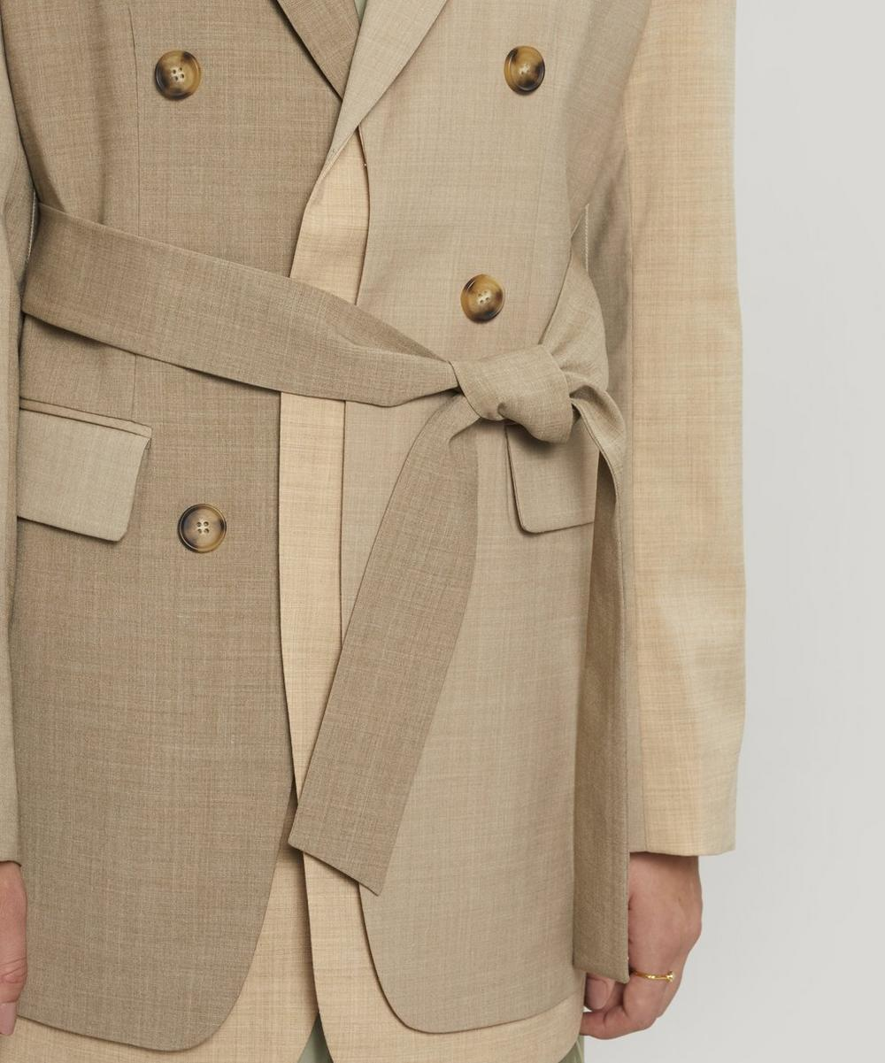 Elliot Belted Japanese Wool-Blend Jacket