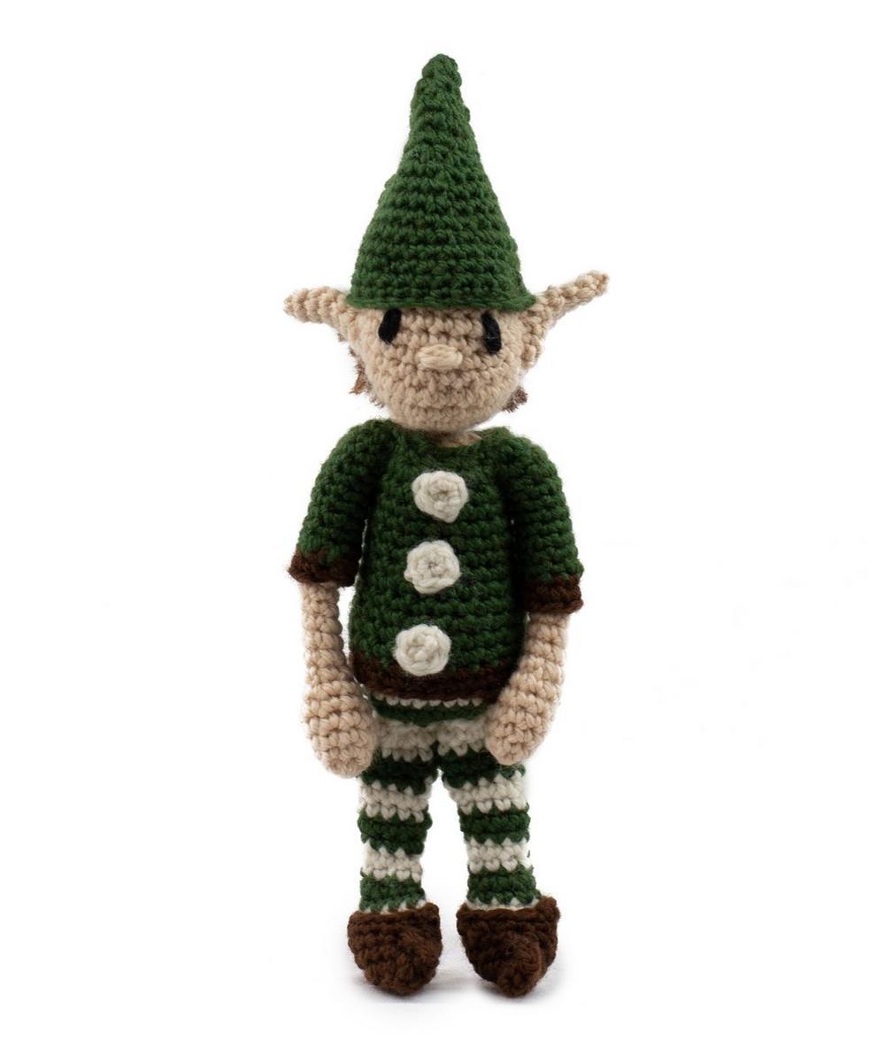 Christmas Elf Crochet Toy Kit