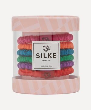 Frida Silk Hair Ties Pack of Six