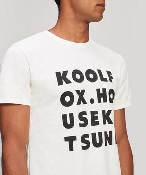 Kool Fox Cotton Logo T-Shirt