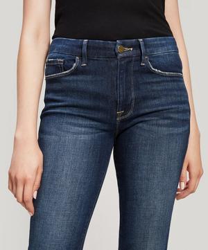 Le Mini Boot Raw Edge Jeans