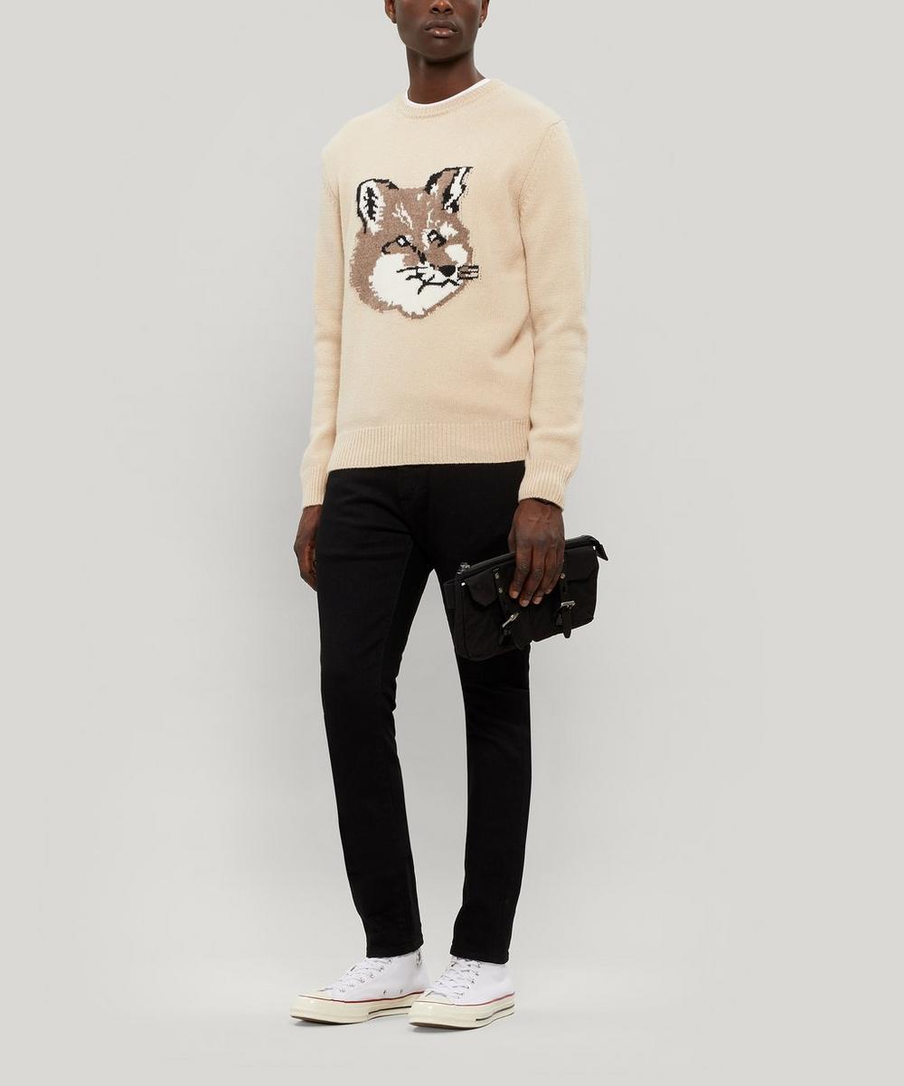Fox Intarsia Lambswool Sweater