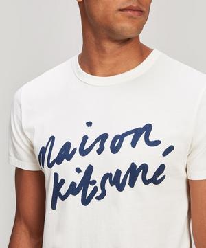 Handwriting Cotton Logo T-Shirt