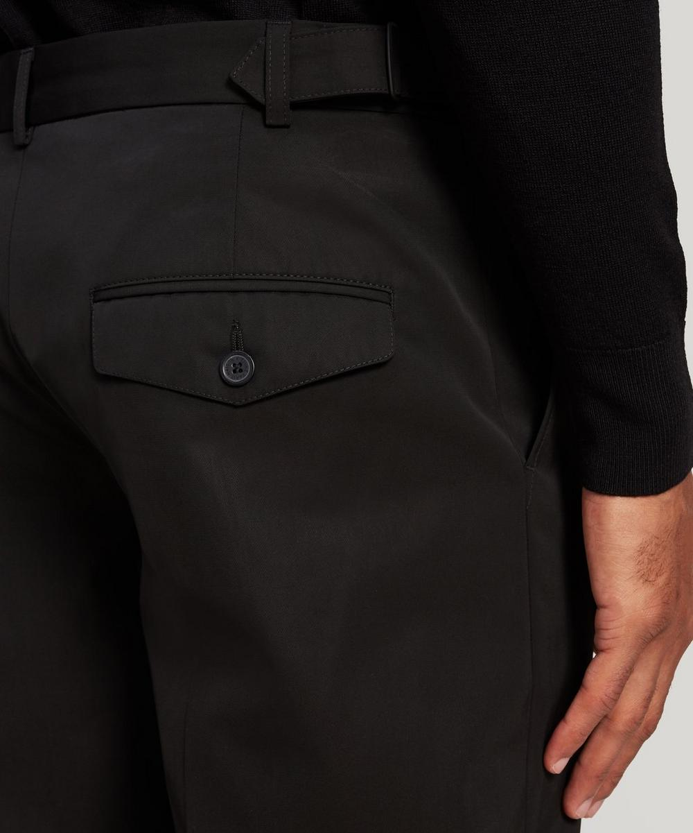 Cropped Technical Trousers