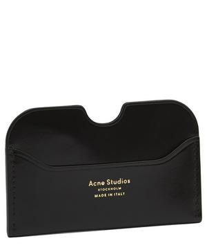 Elmas Patent Leather Cardholder
