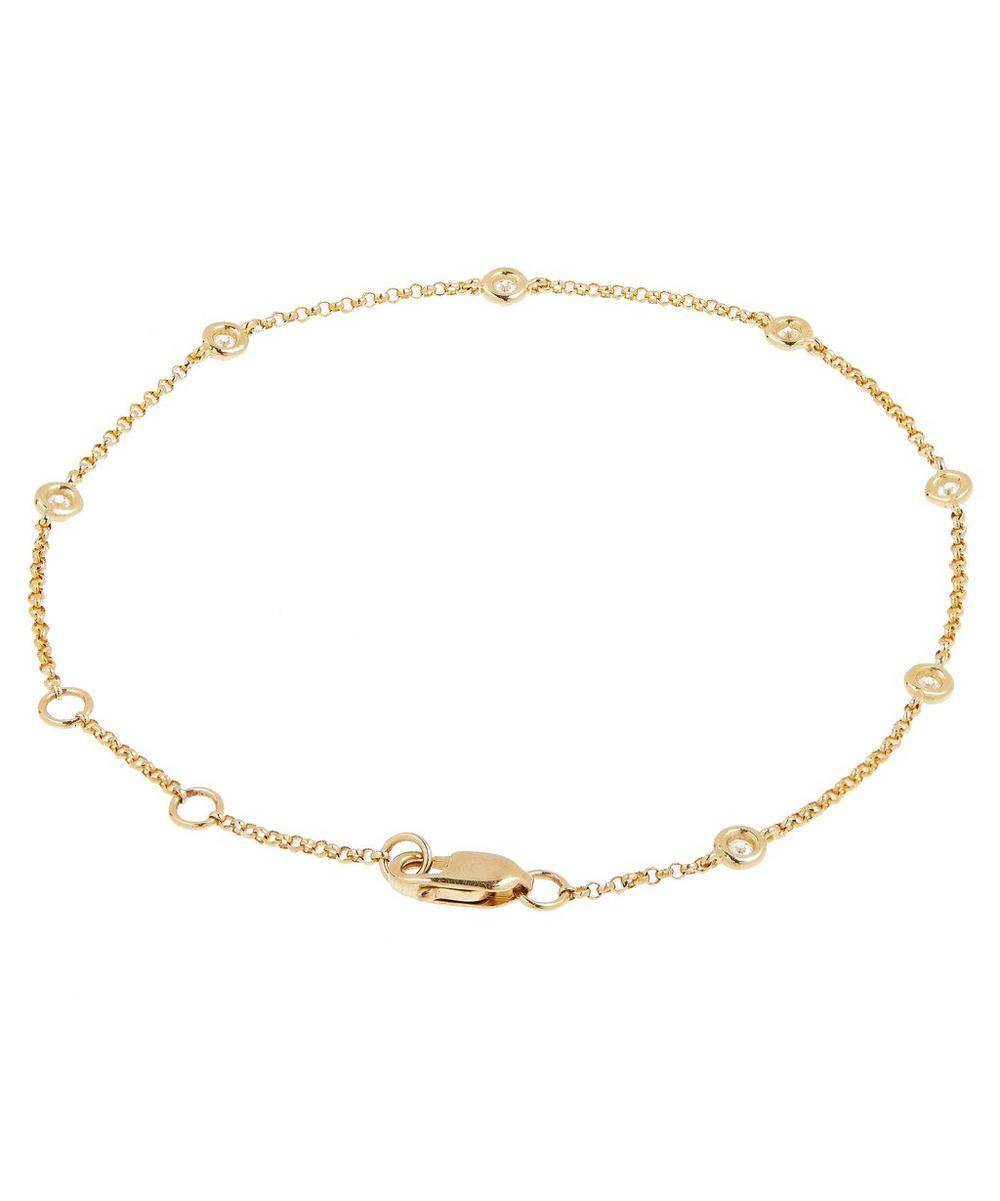 Gold Diamond A Day Bracelet