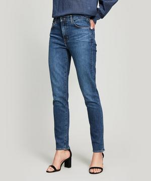 Ruby 30 Crop High Rise Cigarette Jeans