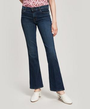 Sallie 32 Mid-Rise Boot Cut Jeans