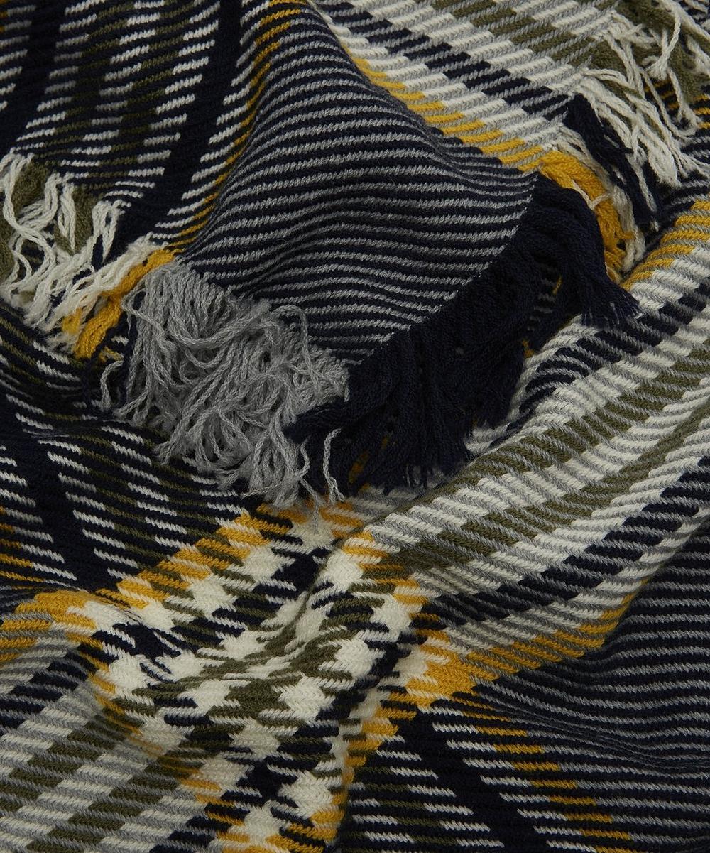 Merino Wool Tartan Scarf