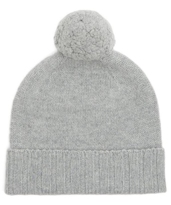Cashmere Pom Pom Beanie Hat