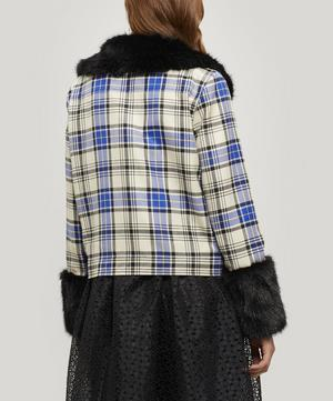 Brutus Checked Short Jacket