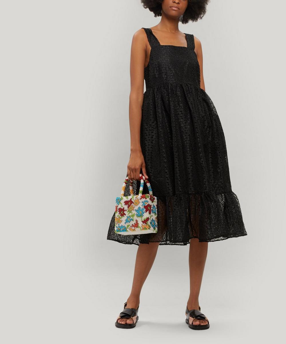 Sylvia Organza Midi-Dress