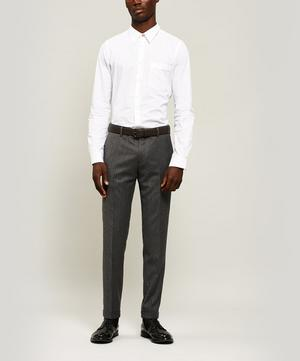 Wool and Cashmere-Blend Turn-Up Trousers