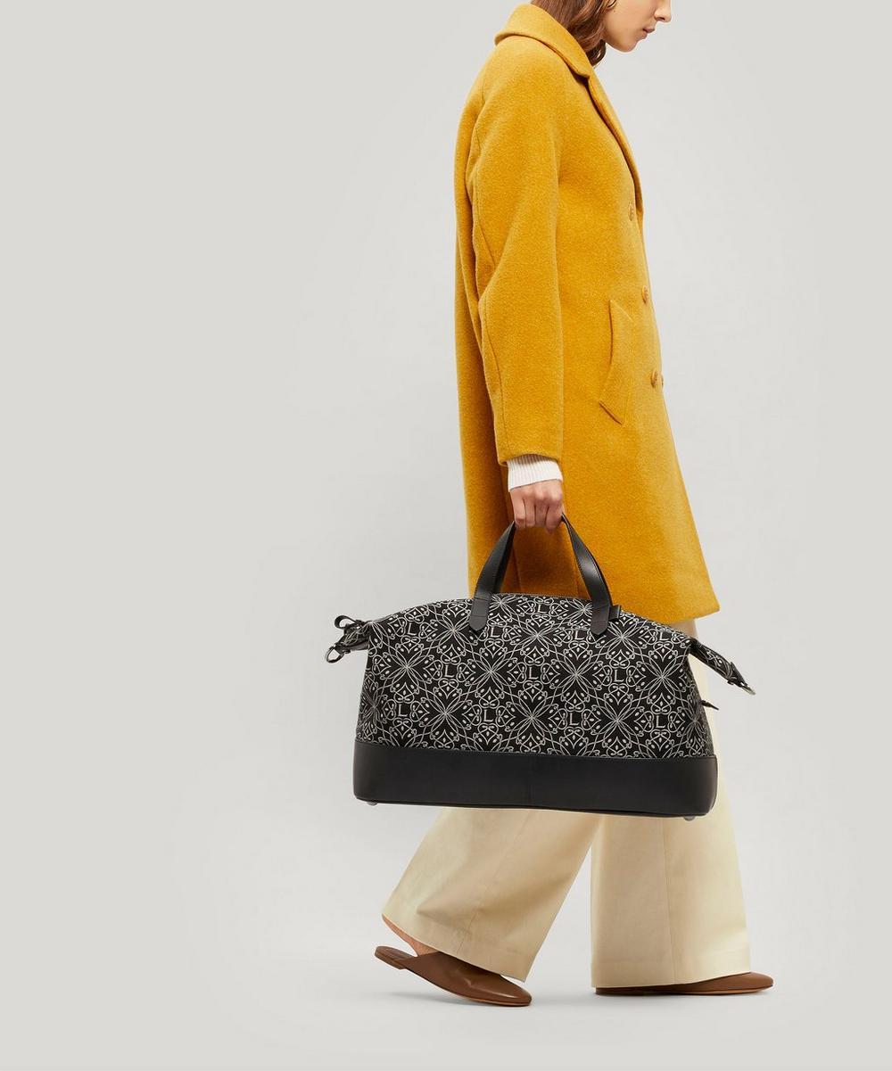 Harlequin Jacquard Weekender Bag
